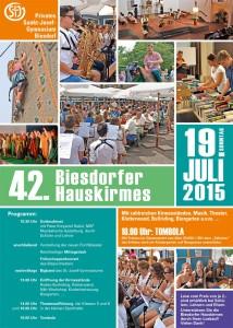 Biesdorf_Plakat_Hauskirmes_2015